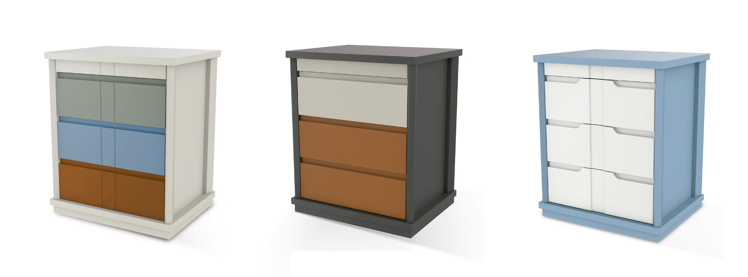 Fengh Vintage muebles armario armario caj/ón de lazo